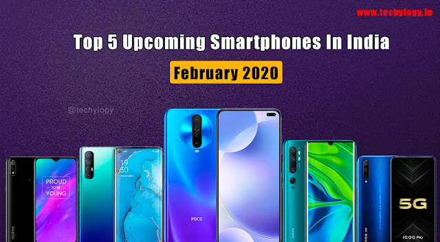 upcoming mobiles in india 2020
