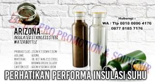 Perhatikan Performa insulasi suhu saat Memilih Tumbler berbahan Stainless Steel