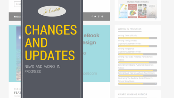 Changes and Updates: news and works in progress