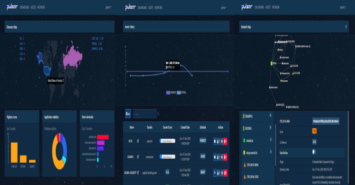 Pulsar : Network Footprint Scanner Platform