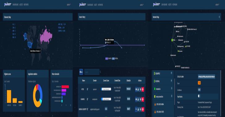 Pulsar : Network Footprint Scanner Platform