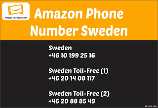Amazon Phone Number Sweden