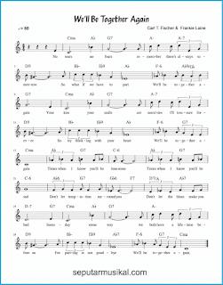 chord we'll be together again lagu jazz standar