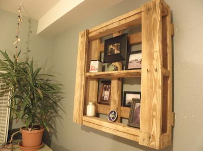 pajangan dinding dari kayu bekas