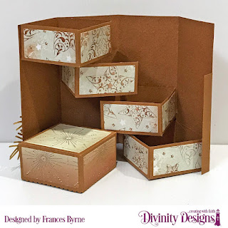 Custom Dies: Treat Tower; Deer Silhouette; Pinecones & Pine Branches  Papers: Winter