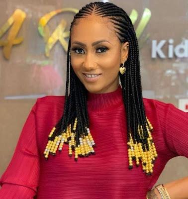 Latest Short Fulani Braids with Beads