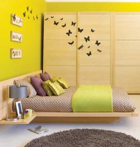Theme Ideas For A Teen Girl's Modern Bedroom