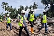 Tinjau DAS Krueng Meureudu, Wabup Pijay Dampingi Anggota Komisi V DPR-RI