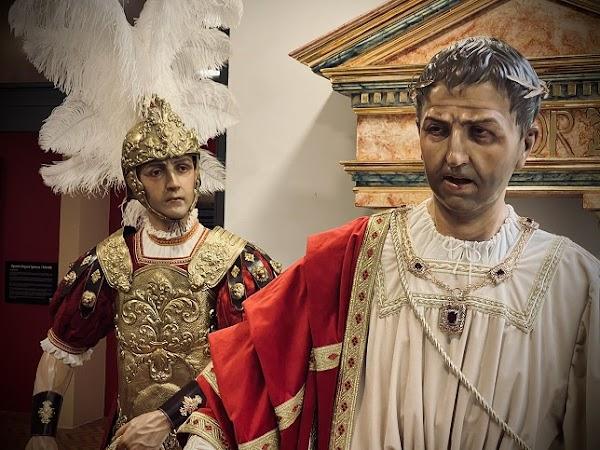 Fernando Aguado culmina la primera fase del misterio del Amor de Chiclana