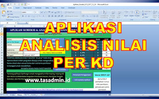 aplikasi analisis nilai per kd kurikulum 2013