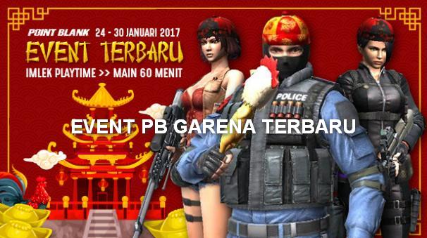 Event PB Garena Terbaru 24 Januari 2017 Spesial Imlek