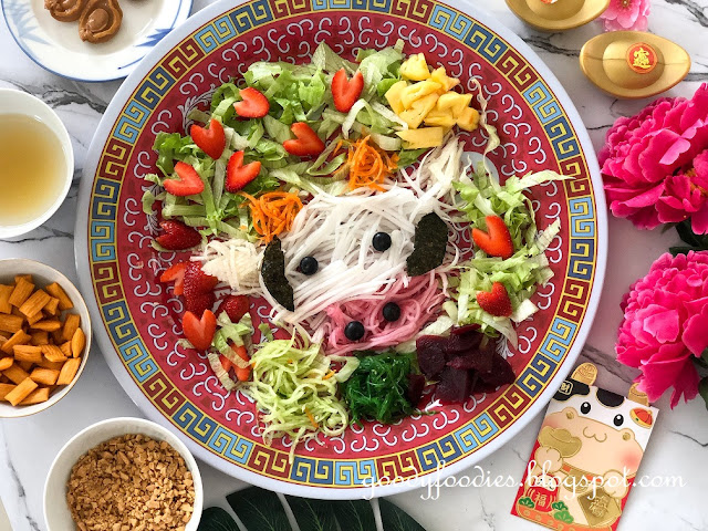 Year of the Cow Yee Sang