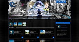 4 Template Blog Untuk Anime Keren Terbaru 2017