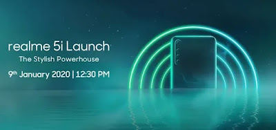 Realme 5i India Release Set for the 9th January