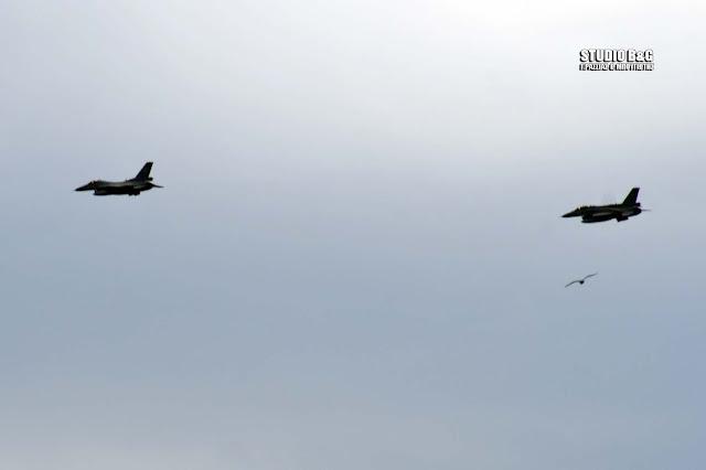 Γιατί περάσαν τα δυο πολεμικά αεροσκάφη πάνω από το Ναύπλιο την Παρασκευή