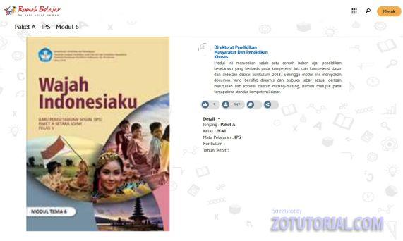 Alamat Situs Download Buku Pelajaran SD, SMP, SMA - zotutorial.com