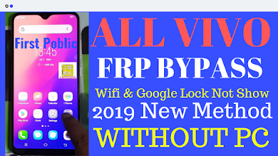 How To Vivo Wifi & Google Lock Not Show FRP Bypass Without Pc