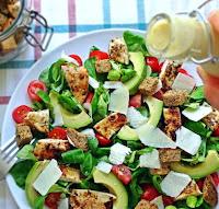 Salada César com Molho de Iogurte #1