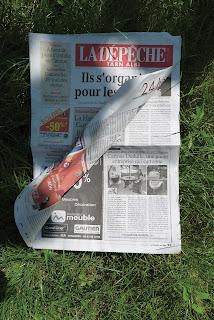 Article de presse sur Cartons Dudulle Juin 2016 - La Dépêche