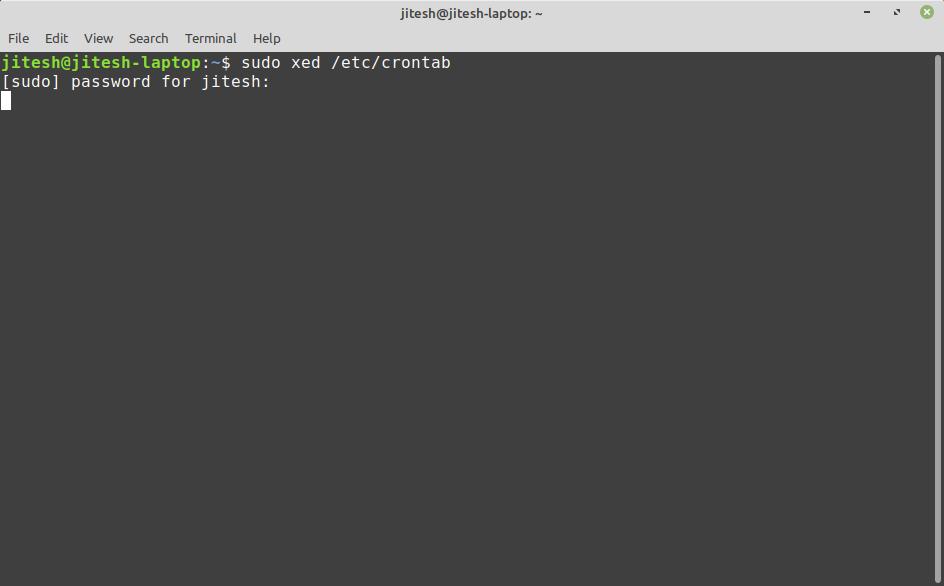 Linux terminal 2