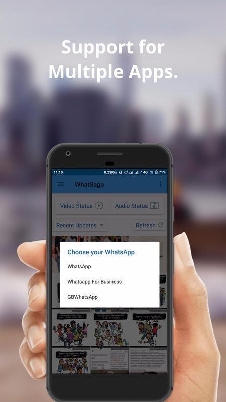 WhatSaga | Longer Stories | Save Status Premium Apk free
