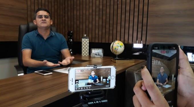 """""""É o momento de as autoridades do Brasil se unirem"""", diz David Almeida sobre coronavírus"""