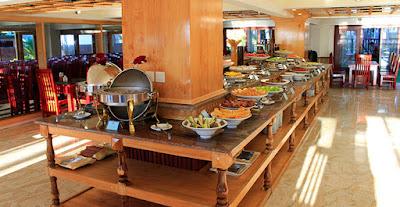 Thực đơn buffet khách sạn 3 sao