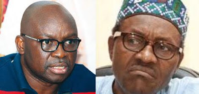 Image result for fayose and buhari