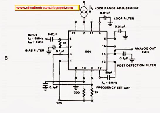 demodulator circuit diagram
