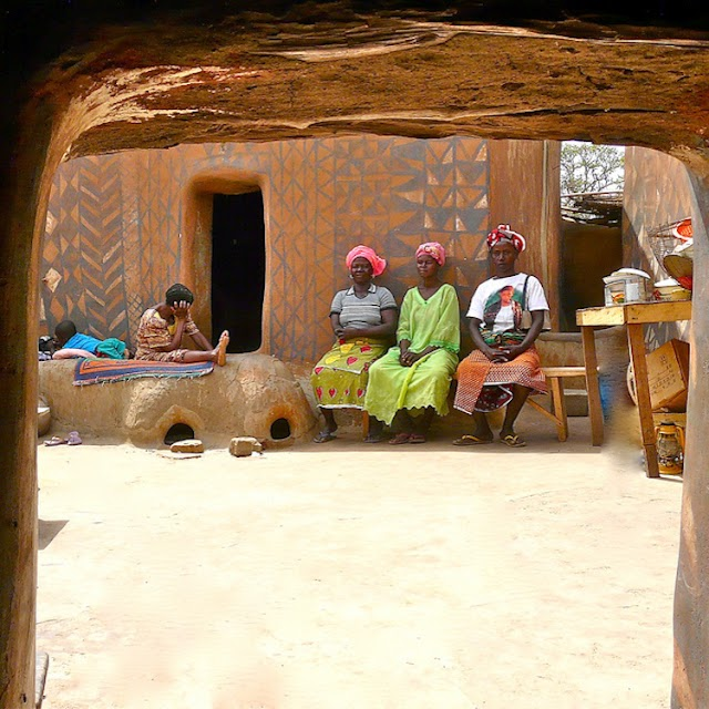 The village of African nobility