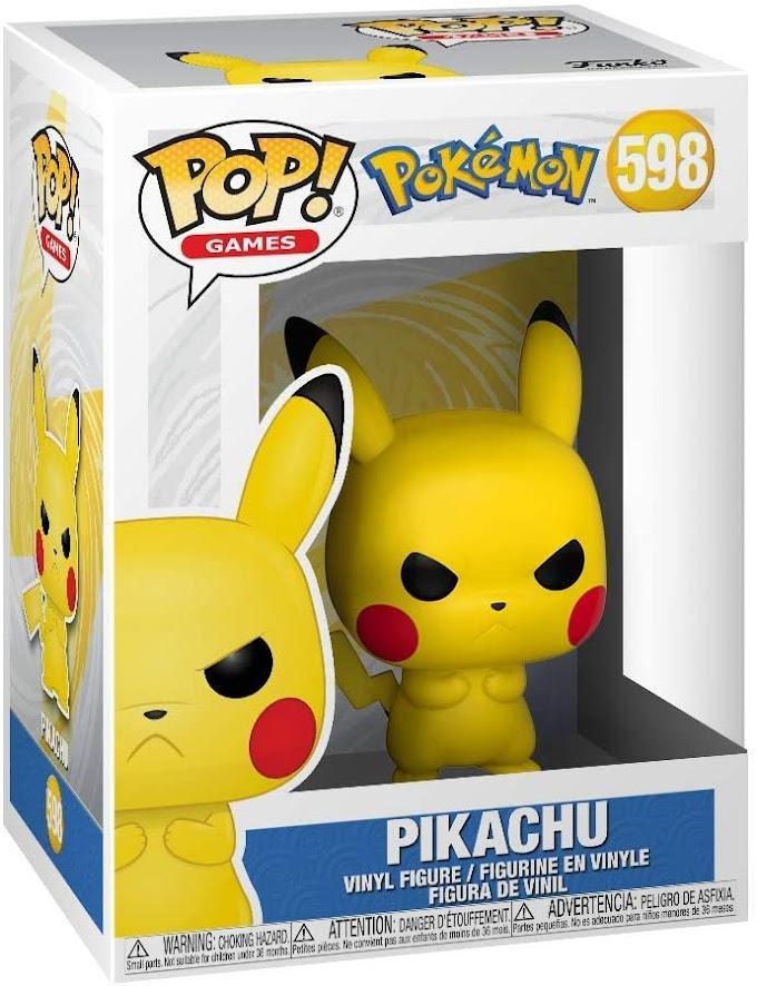 Pop! Pokemon – Grumpy Pikachu – #598