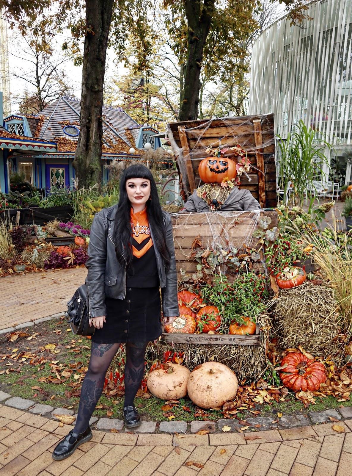 Halloween Tivoli theme park
