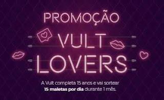 Cadastrar Promoção Vult Lovers 15 Maletas Maquiagem - 15 Anos Aniversário