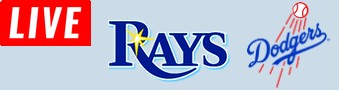 Rays Vs DodgersLIVE STREAM streaming