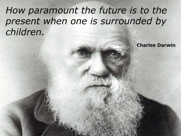 How paramount the future is to the present when one is surrounded by children