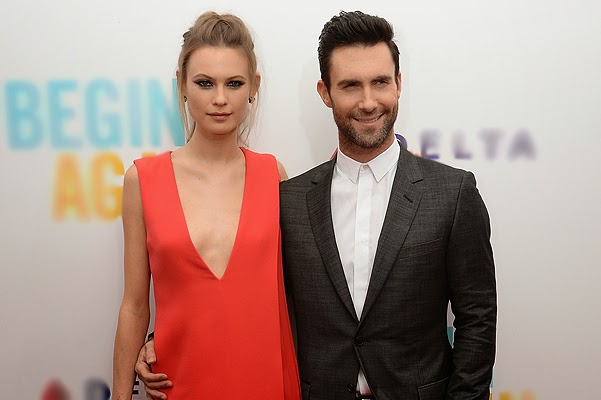 Adam Levine and Behati Prinsloo were married in Mexico