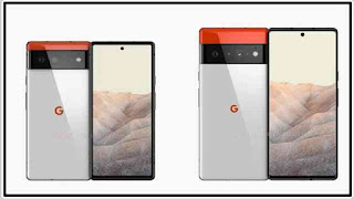 "هواتف جوجل لعام 2021 في نموذج رسمي ""Pixel 6"" و ""Pixel 6 XL"""