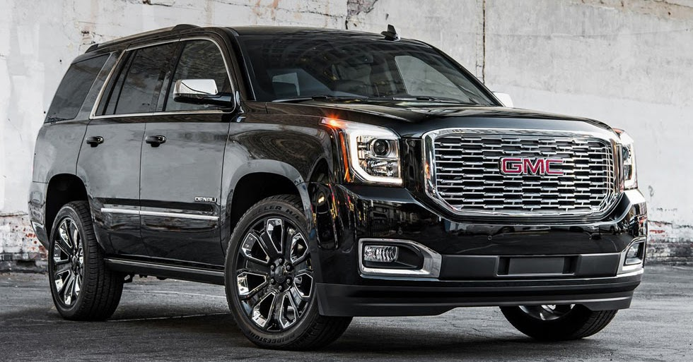 2018 GMC Yukon Denali Ultimate Black Edition Brings The ...