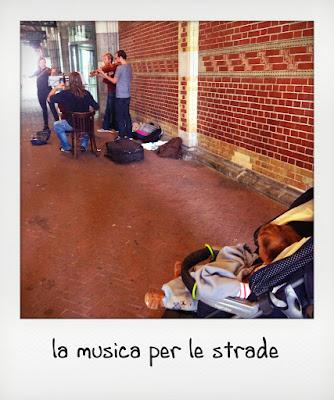 Spettacoli per bambini ad Amsterdam: i musicisti di strada