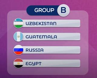 مجموعة مصر في كأس العالم لكرة القدم داخل الصالات
