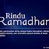 Rindu akan Datangnya Ramadhan