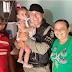 Sargento de folga salva vida de bebê enquanto fazia compras em João Pessoa