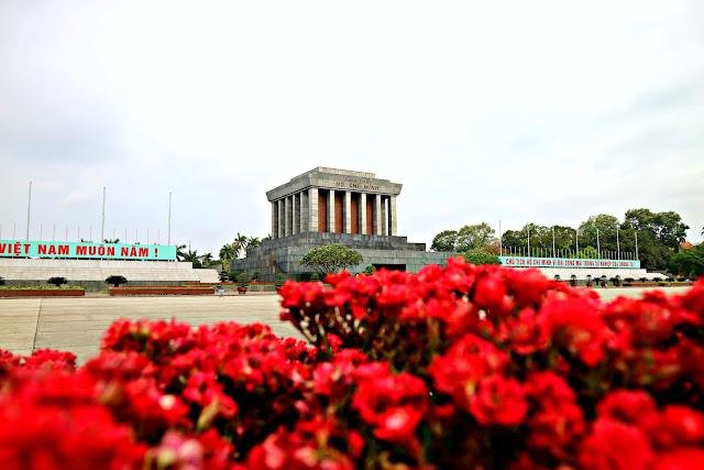 Ho Chi Minh Mausoleum Hanoi, Vietnam