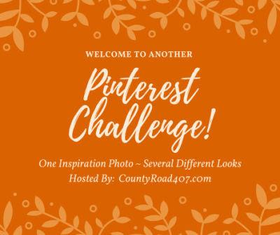 orange Pinterest Challenge logo