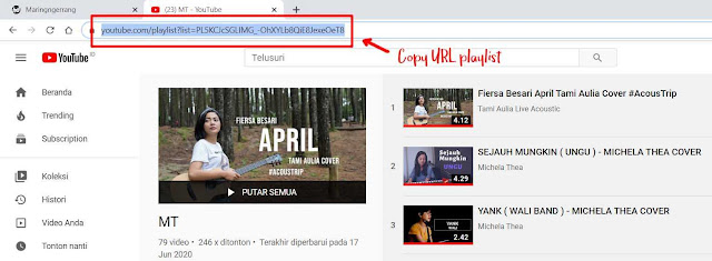 Cara Download Playlist YouTube dengan IDM