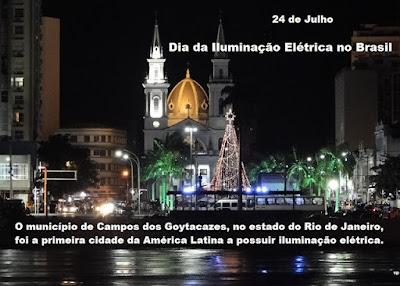 Dia da Iluminação Elétrica no Brasil