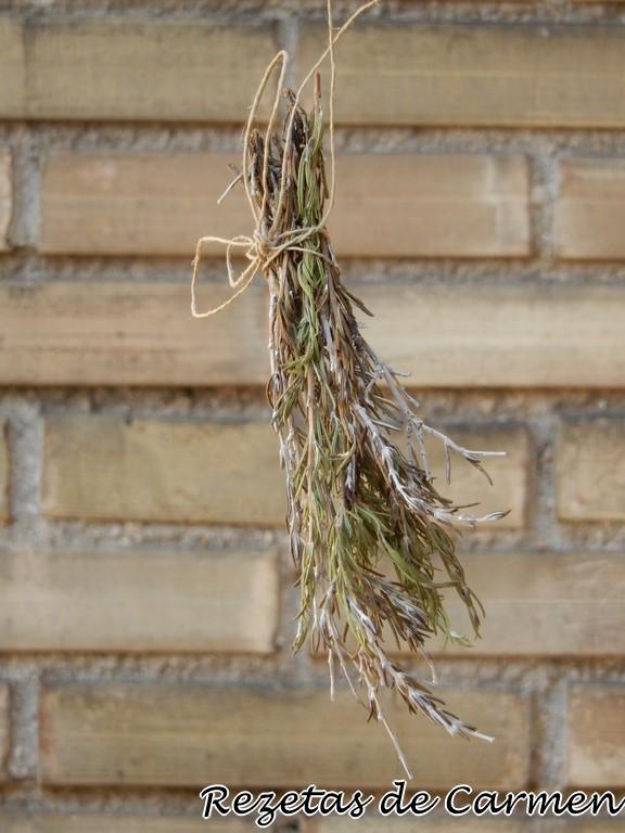 Cómo secar hierbas aromáticas