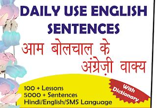 type of sentence in hindi