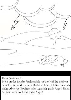 Kinderbuch Hans die Gans