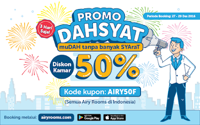 promo dahsyat airy rooms
